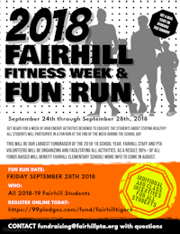 2018-2019 Fitness Week & Fun Run